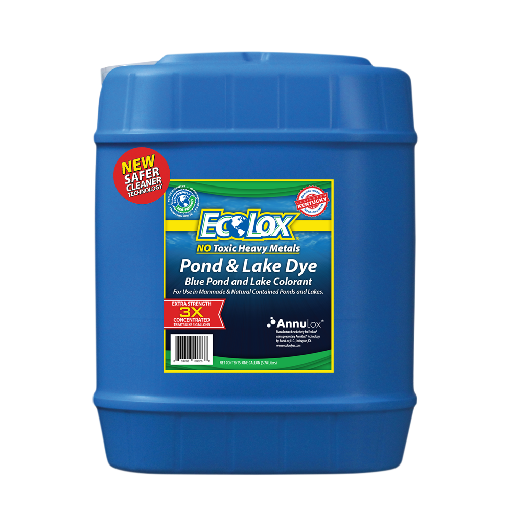 EcoLox® 3X Concentrate Blue Pond & Lake Dye